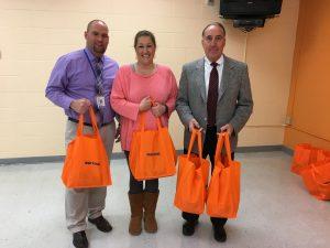 Junkins Fights Hunger in Gilmer County, WV